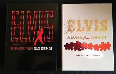 Elvis '68 Comeback Special Deluxe Edition 3 Dvd + Aloha From Hawaii 2 Dvd