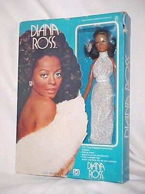 1977 VINTAGE MEGO DIANA ROSS DOLL in BOX TLC