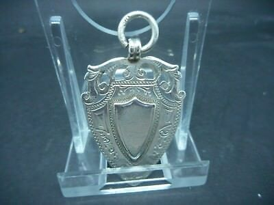 Masonic Silver Watch Fob Hallmarked 1899