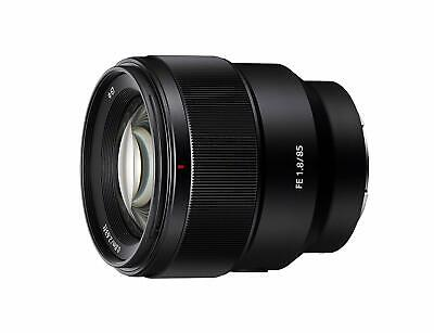 SONY Digital single lens camera E mount lens SEL85F18 FE 85mm F1.8 NEW