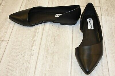 c0396540ae5 **STEVE MADDEN AUDRIANA Pointed Toe D'Orsay Flat - Women's Size 6 M - Black