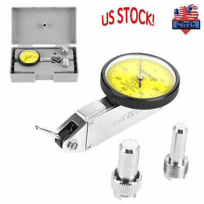 """20"""" Professional Lever Dial Test Indicator Precision 0.01mm Gage Meter Tool Kits"""