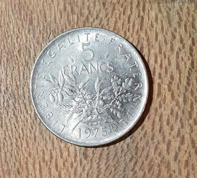 FRANCE - 5 francs 1975 - Semeuse - #1
