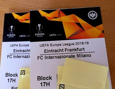 Eintracht Frankfurt Europa League Tickets