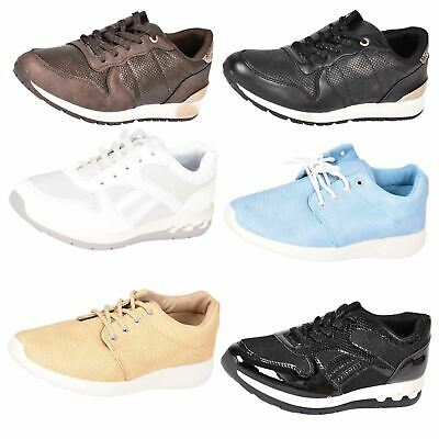 New Ladies Running Shoes Women Gym Trainers Walking Fitness Sports LightWeight