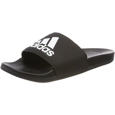 best loved 921ec d492f adidas adilette Comfort Noir Synthétique Adulte Tongs Sandales