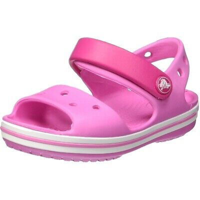 9a0ed870c6525 Crocs Crocband Sandal Kids Rose Bonbon Croslite Enfant Sangle Sandales