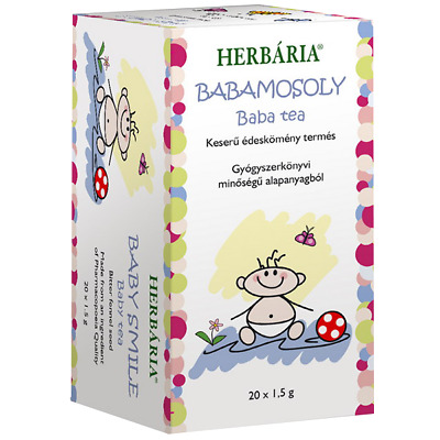 Herbaria Baby Smile Fennel Tea Digestive Stomach Tea to Soothe Colic -20 Teabags