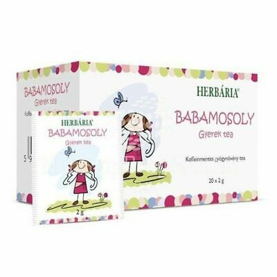 Baby Smile Tea Baby Children Kids Natural Herbal Tea Rosehip Camomile Hibiscus