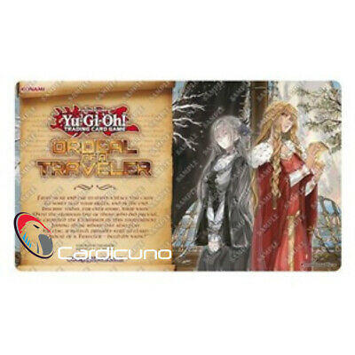 Ordeal of a Traveler Isolde, Two Tales of the Noble Knights Spielmatte, Yugioh!