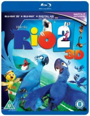 Rio 2 3D&2D  - BLU-RAY - NEW SEALED** FREE POST**