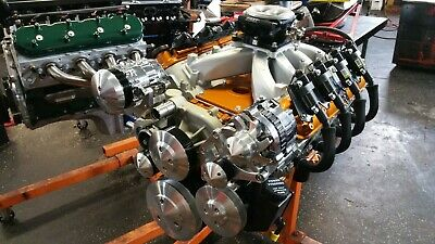 CHEVY LS CRATE Engine 6 0L Ls2 Ls1 Ls3 Lsx 575Hp Turn Key Rect Port Heads