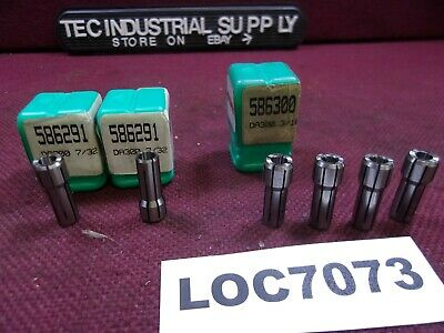 !!! New !!! Accupro Da300 Collets Double Angle Lot Of 6 Pc. Loc7073