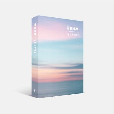BTS – 花樣年華 THE NOTES 1 K (Korean Ver).+ SPECIAL NOTEBOOK (KpopStoreinUSA)