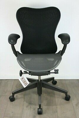 UK & EU Delivery | Herman Miller Mirra 2 Chairs | Graphite Grey | Butterfly back
