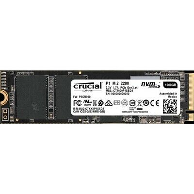 NEW CT1000P1SSD8 Solid State Drive 1 TB P1 SSD M.2 1TB Crucial