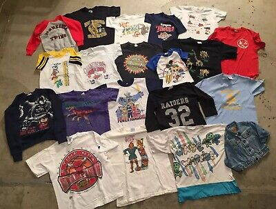 Vintage Wholesale Children's Toddler Kids Clothing Lot Disney Sports Levis
