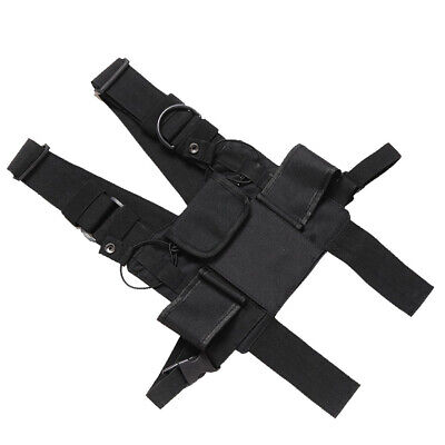 Carrying case Harness Chest Pouch Holster for Two Way Radio Baofeng UV-5R UV-9R