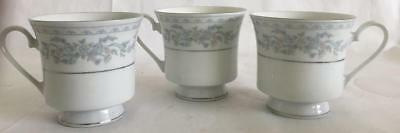 """3 1/4"""" Somerset by NL Excel Coffee or Tea Cups Set of 3 - Made In China"""