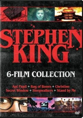 Stephen King 6 Film Collection DVD BRAND NEW SEALED