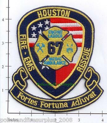 Houston Station 24 TX Fire Dept Patch Reed Road Texas