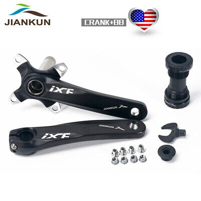 Multicolor  IXF Aluminum MTB Bicycle Crankset 170mm BCD 104mm BB Bracket Stable