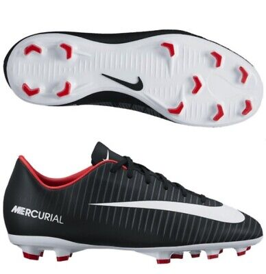5d686fc97c870 Nike Mercurial Victory Vi Fg Youth Boys Soccer Cleats Black 831945-002 Size  1.5