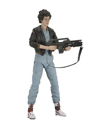"Aliens - 7"" Scale Action Figure - Series 12 - Lt. Ripley In Bomber Jacket - NECA"