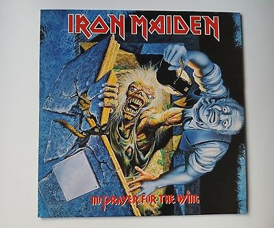 Iron Maiden - No prayer for the dying lp Spanish press
