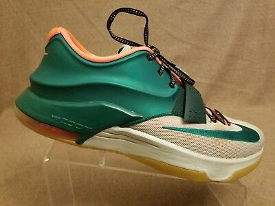 separation shoes 53ea0 dd9fd Nike KD VII 7 Kevin Durant  Easy Money  653996-330 Mystic Green Men s