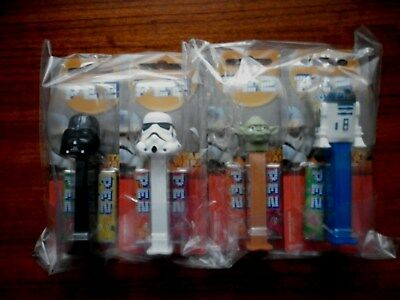 STAR WARS PEZ Set Of 4 NEW AND SEALED