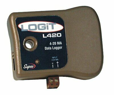 Supco L420 LOGiT Current Data Logger, Measuring 4-20mA Loops