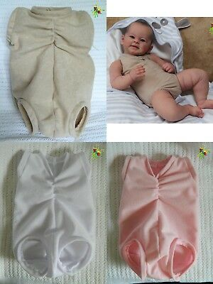 Doe Suede Scrunchy Chest & Tush Bodies 3 Colours Various Sizes *string Or Ties*