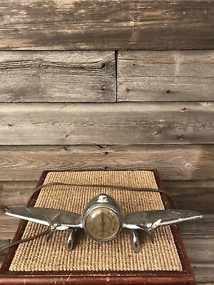 Vintage Airplane Clock New Haven Clock Art Deco
