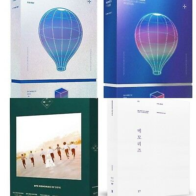 Bts: 2016 -2017 Memories Dvd, Blu Ray, Wings Tour Blu Ray (Select) [Kpoppin Usa]