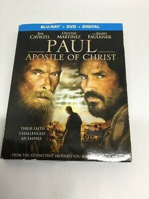 Paul Apostle Of Christ Blu Ray Dvd 2 Disc Set + Slipcover  Free Shipping Q4