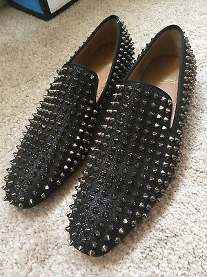official photos 0ee65 4f0a5 CHRISTIAN LOUBOUTIN DANDELION spikes flat size 9.5