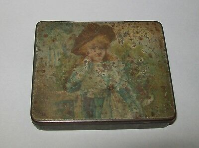 VINTAGE 'THE DOROTHY TOILET BOX' for CRESCENT QUALITY (HAIR) PINS empty