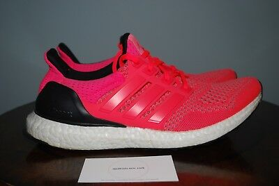 Adidas Women s Ultra Boost 1.0 Flare Red Pink AF5672 Size 8.5 Extremely Rare 7418d6f42