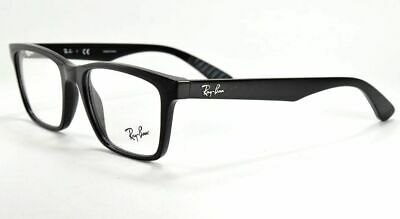 478192c0f43c RAY-BAN RX7056 2000 53mm Shiny Black Eyeglasses -  76.09