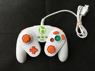 PDP Wired Fight Pad Controller for Super Smash Bros Nintendo Wii / Wii U - Yoshi