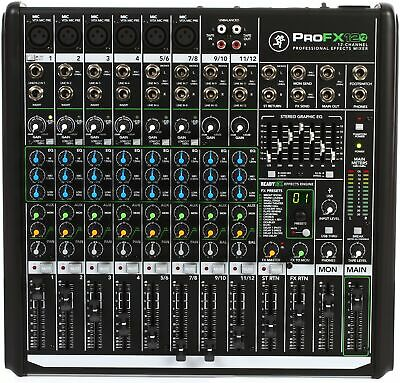 Mackie ProFX12v2 12-channel Mixer with USB and Eff