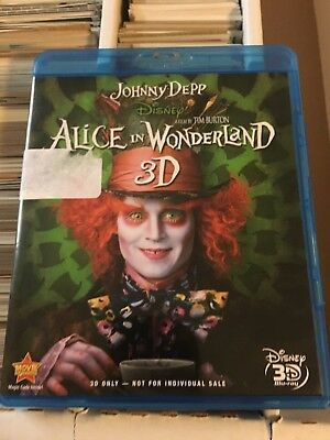 Alice In Wonderland ( Blu Ray 3D Only )