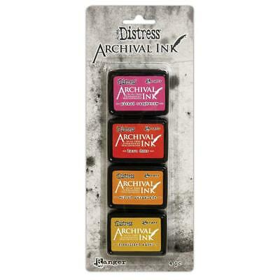 Tim Holtz Distress Archival Mini Ink Pads - Set 1 - NEW!