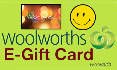 Woolworths WISH Gift Card $500 - Postal Delivery