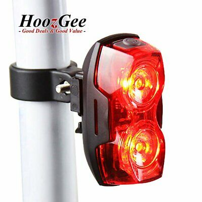 Road MTB Bike Bicycle Cycling 2 LED Back Rear Tail Light Back Lamp Waterproof