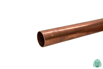 Copper Pipe 6x1mm-54x1.5mm Rod 2.0090 Aisi C11000 Heating Drinking <2 Meters