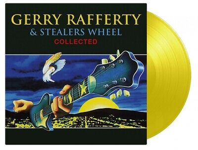 Gerry Rafferty & Stealers Wheel Collected MOV #d YELLOW vinyl 2 LP NEW/SEALED