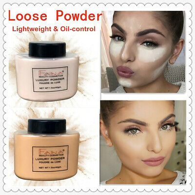 Long-lasting Banana Powder Contouring Loose Powder  Oil Control Face Makeup