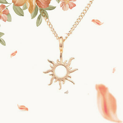 Necklace Gold The New Alloy Sun Clavicle Women